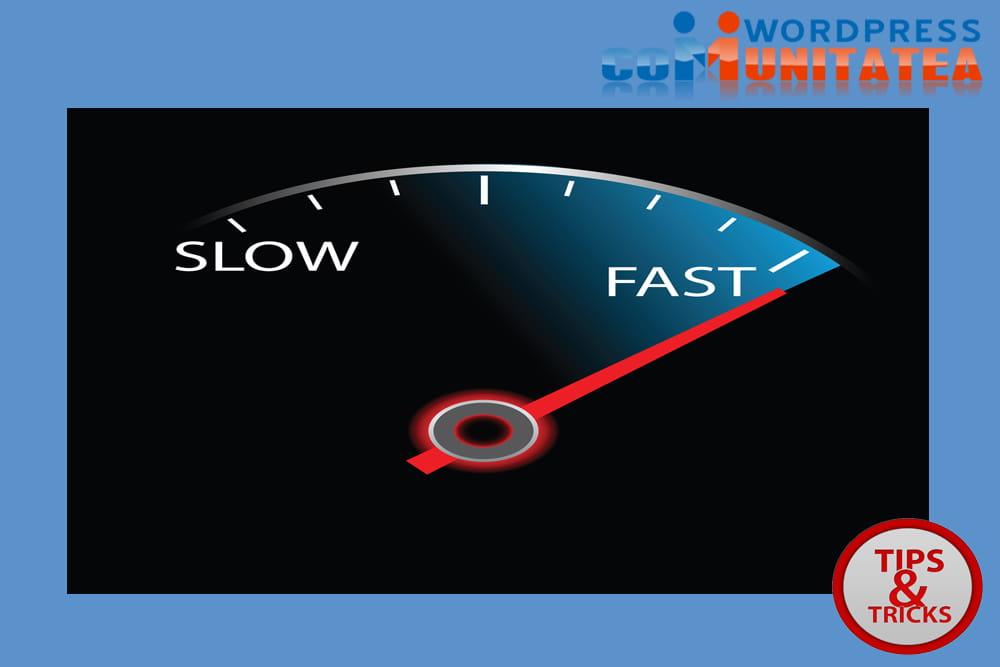 Optimizati viteza site-ului pentru a incarca mai rapid paginile