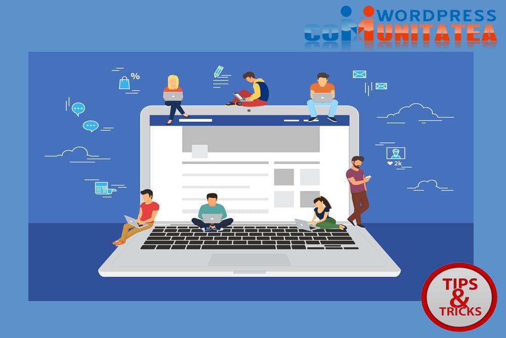 Participati la comunitatile online