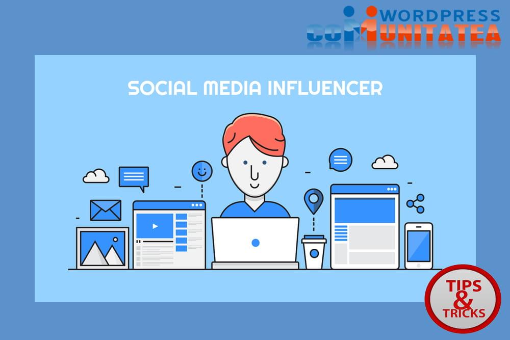 Gasiti si angajati persoane influente din social media