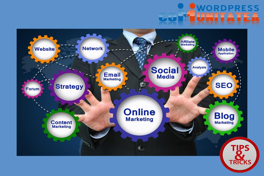 Continuati sa invatati marketing online si SEO