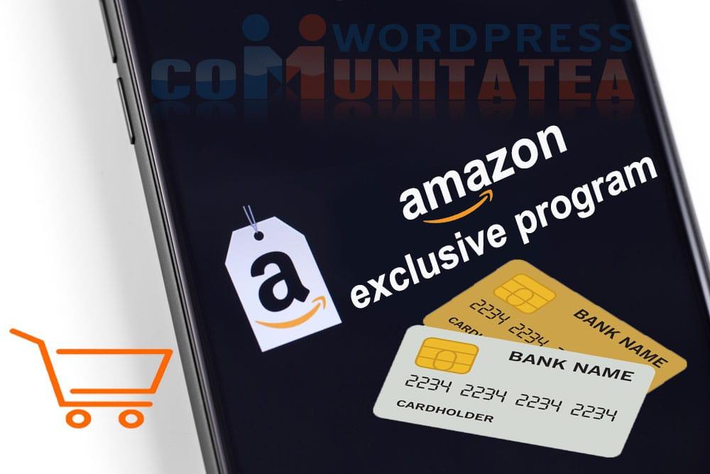 Amazon Exclusiv Program - Cum te ajuta sa-ti dezvolti brandul si afacerea ta