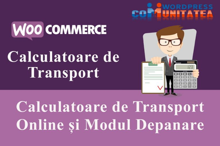 Calculatoare de Transport Online și Modul Depanare