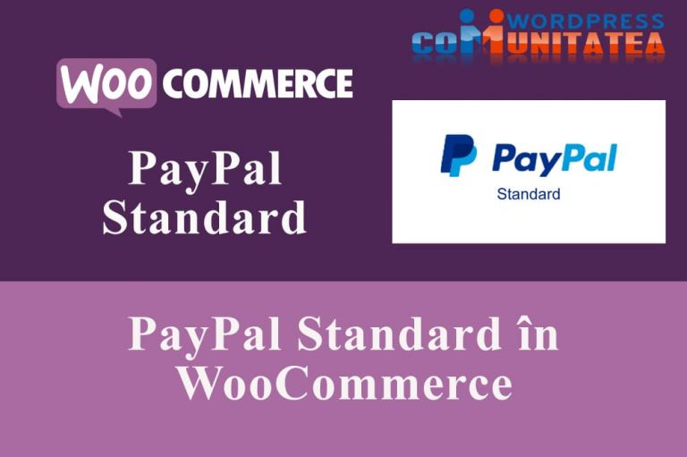 PayPal-Standard-în-WooCommerce