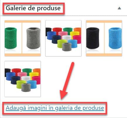 Galerie de Produse