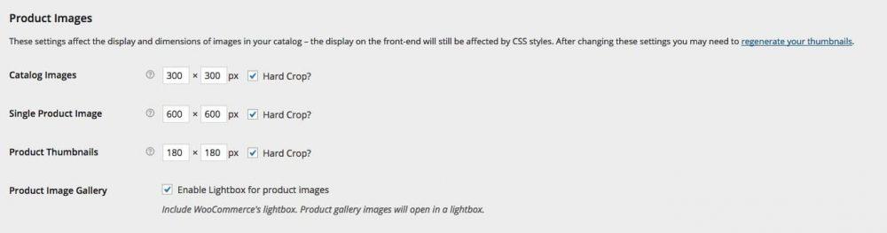 Dimensiuni standard ale imaginii