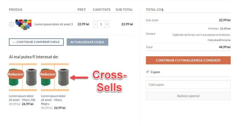 Cross-Sells – Vânzări Încrucișate