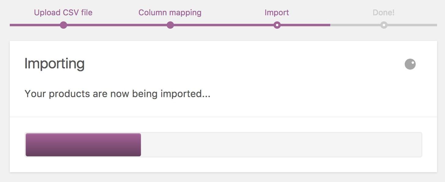 Rulează importatorul