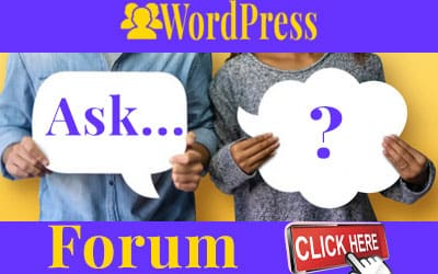 Forum Comunitatea WordPress