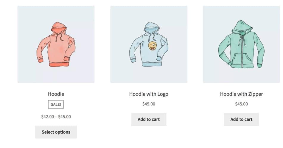"""Scenariul 8 - Afișați numai produsele cu eticheta """"hoodie"""""""
