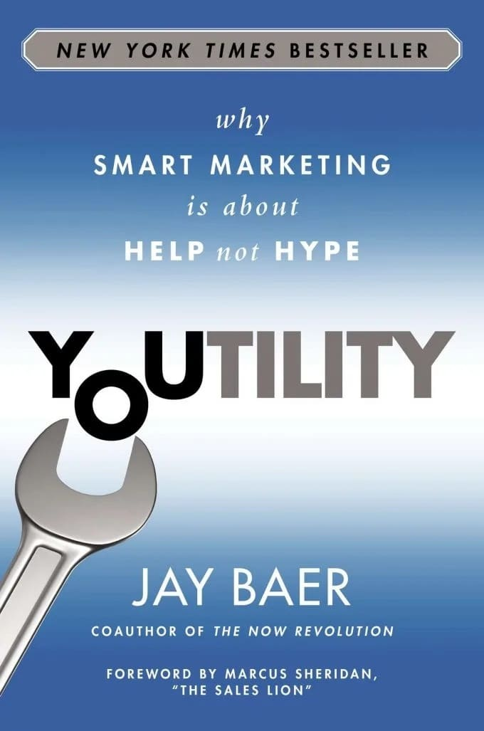 """""""Youtility"""" by Jay Baer"""