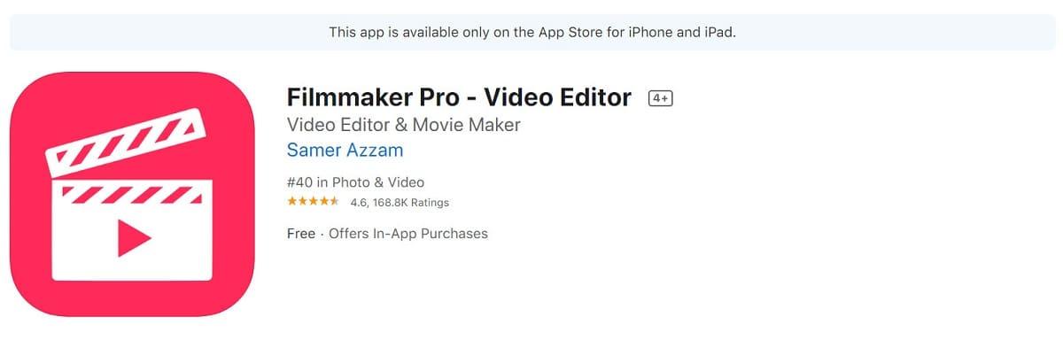 Filmmaker Pro-Editare Video