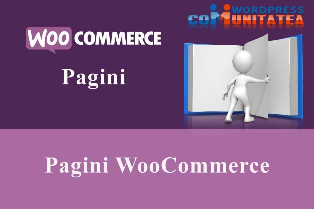 Pagini WooCommerce