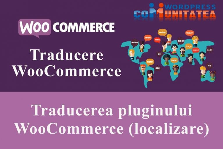 Traducerea pluginului WooCommerce