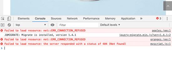 Eroare încărcare resurse-Imagine preluată