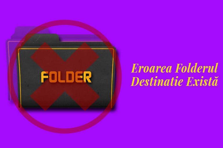 Eroarea Folderul Destinație Există - Cum se remediază în WordPress