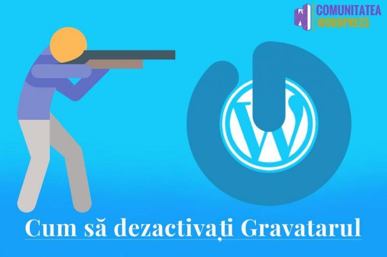 Cum să dezactivați Gravatarul în WordPress