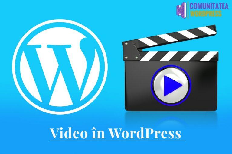 Videoclip pe WordPress - De ce nu ar trebui să încărcați niciodată