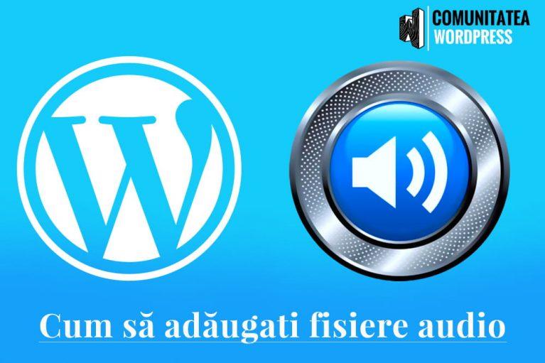 Cum să adăugați fișiere audio și să creați liste de redare în WordPress