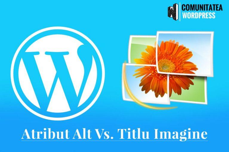 Textul Alternativ și Titlul Imaginii în WordPress - Care este diferența?