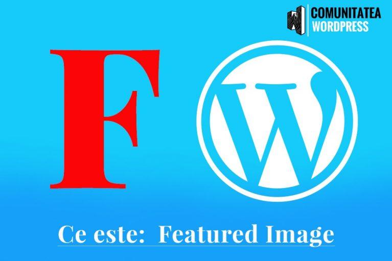 Ce este: Featured Image - Imagine reprezentativă