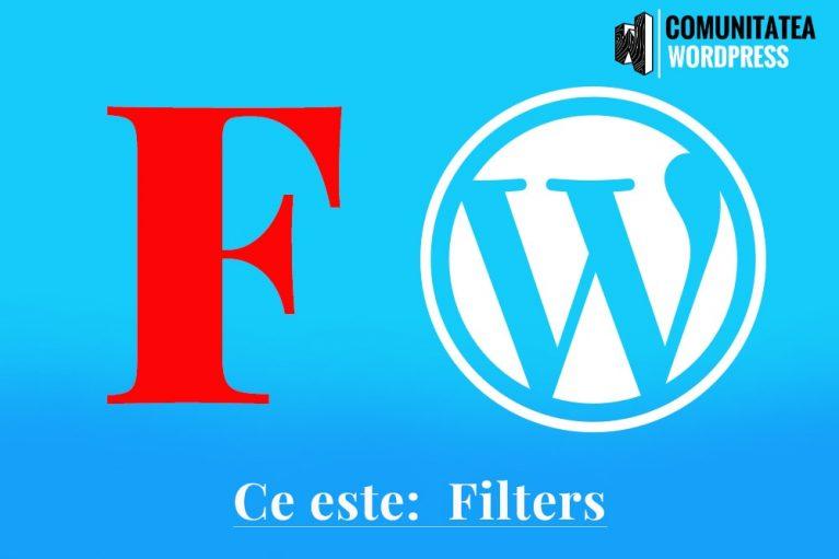 Ce este: Filters – Filtre