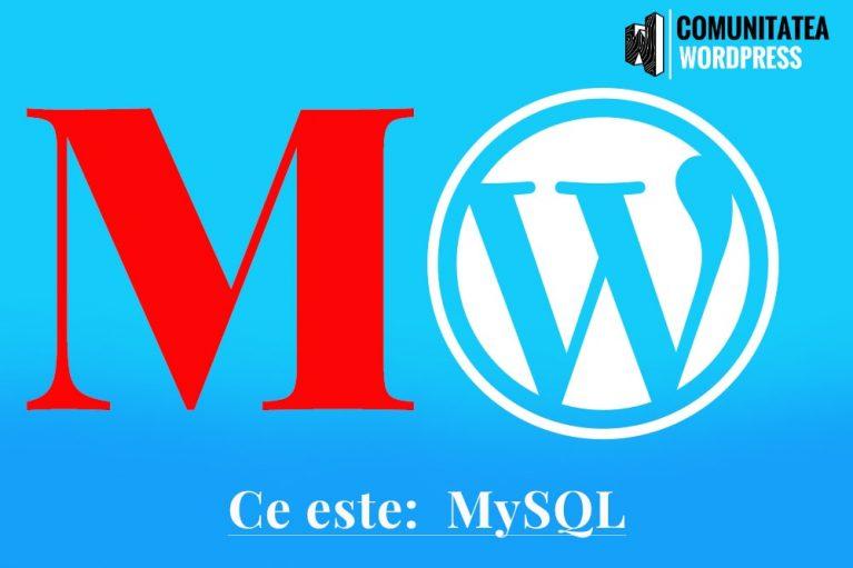 Ce este: MySQL
