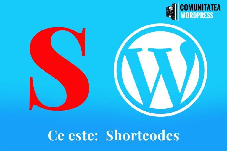 Ce este: Shortcodes