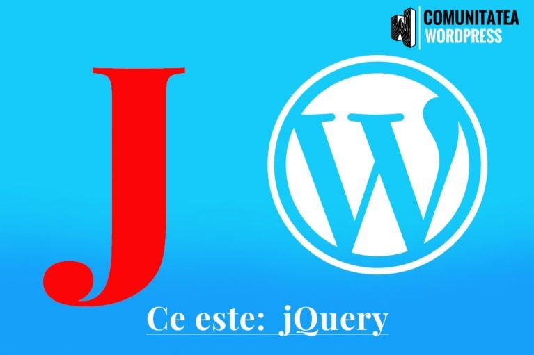Ce este: jQuery