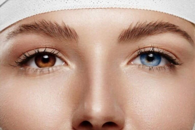 Cum schimbi culoarea ochilor într-o fotografie cu PhotoWorks