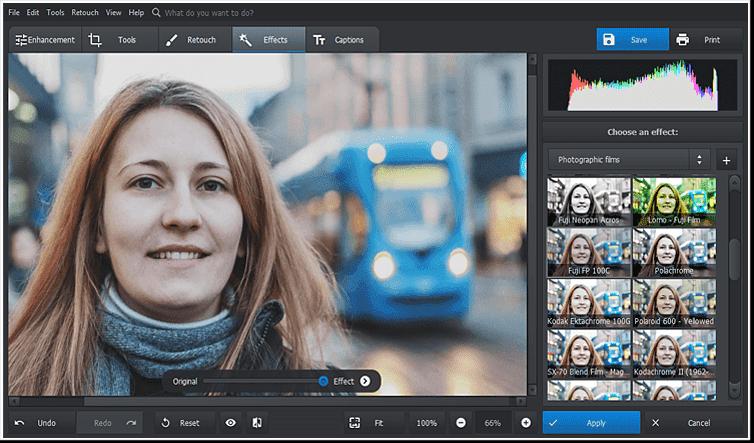 Aplicați câteva efecte de filtru artistic fotografiei editate