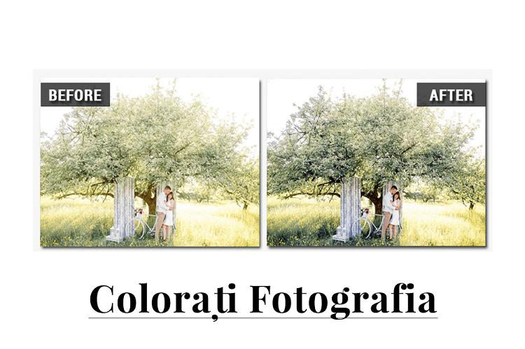 Cum să corectați color o fotografie simplu și ușor în Photo-Work