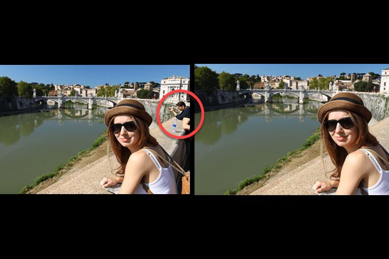Cum să eliminați o persoană dintr-o fotografie