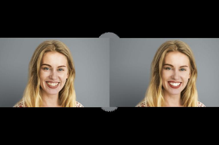 Editor de fotografii - Portrete ușor de utilizat