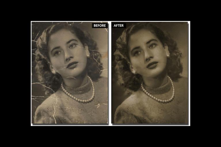 Fotografie veche - Cum se restabilește să arate ca nouă