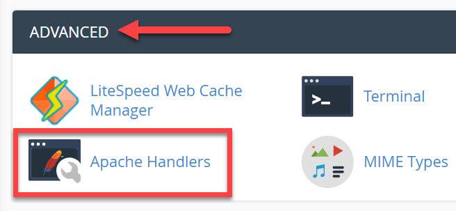 Advanced-Apache Handlers