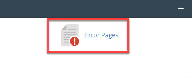 Advanced-Error Pages