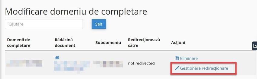 Modificați către noul Folder creat în Directorul Rădăcină