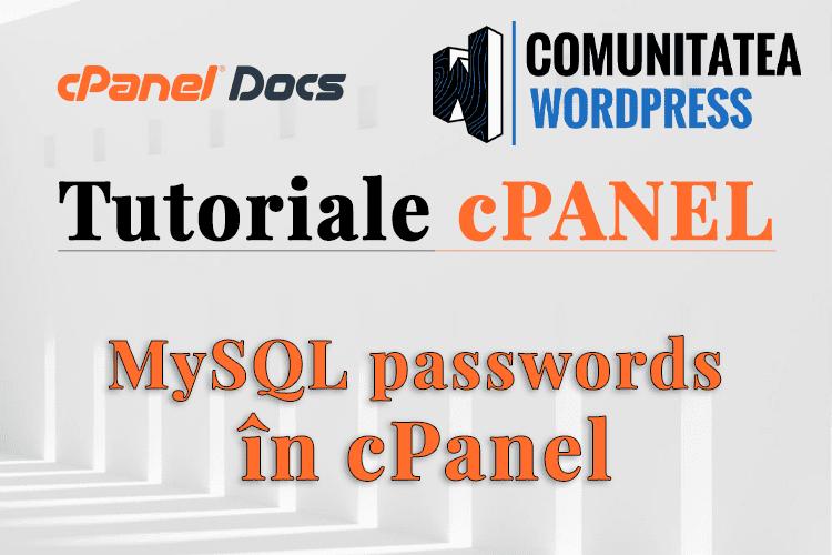 Parolele MySQL nu funcționează după actualizare