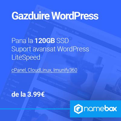 Găzduire WordPress