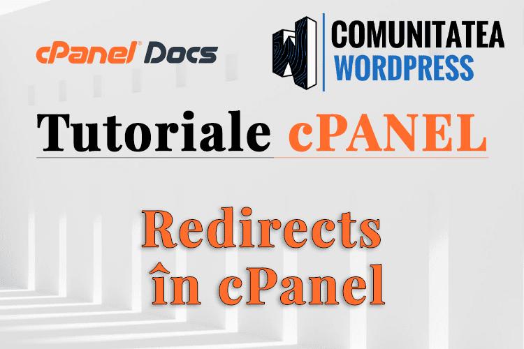 Redirecționări în cPanel - Cum se configurează în cPanel