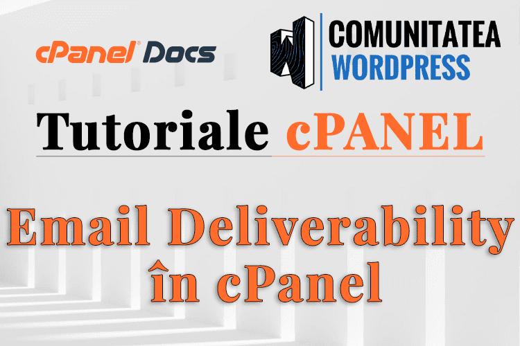 Cum să gestionați setările de livrare a emailurilor în cPanel