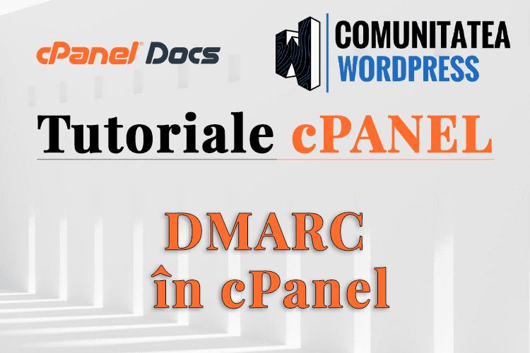 DMARC - Cum se configurează în interfața cPanel