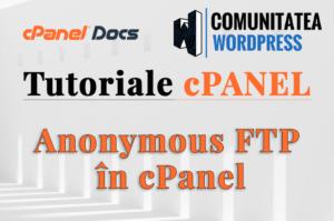 FTP Anonim – Cum se utilizează în interfața cPanel?